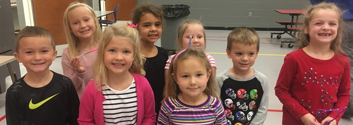 Kindergarten Trojan Way Weekly Winners