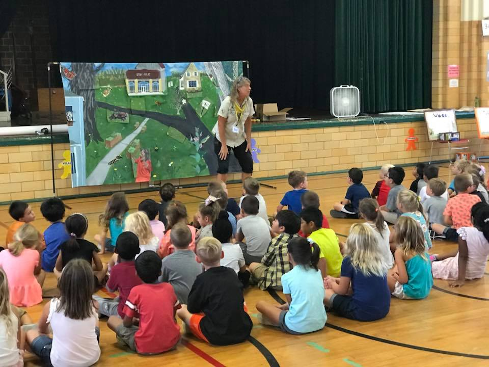 August 30th: First Grade Habitat Heroes Pollinator Project Intro