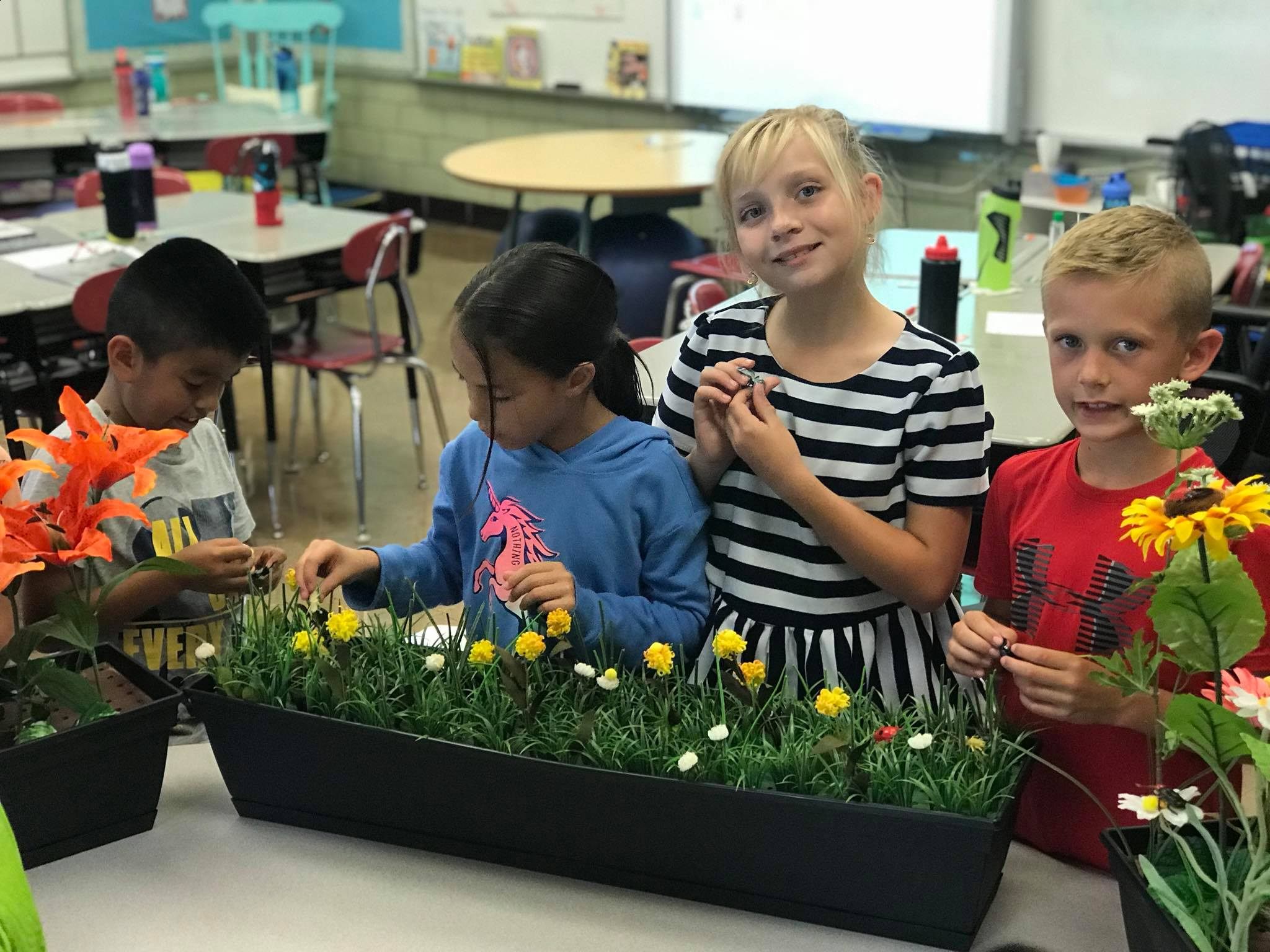 August 30th: Third Grade Habitat Heroes Pollinator Project Intro