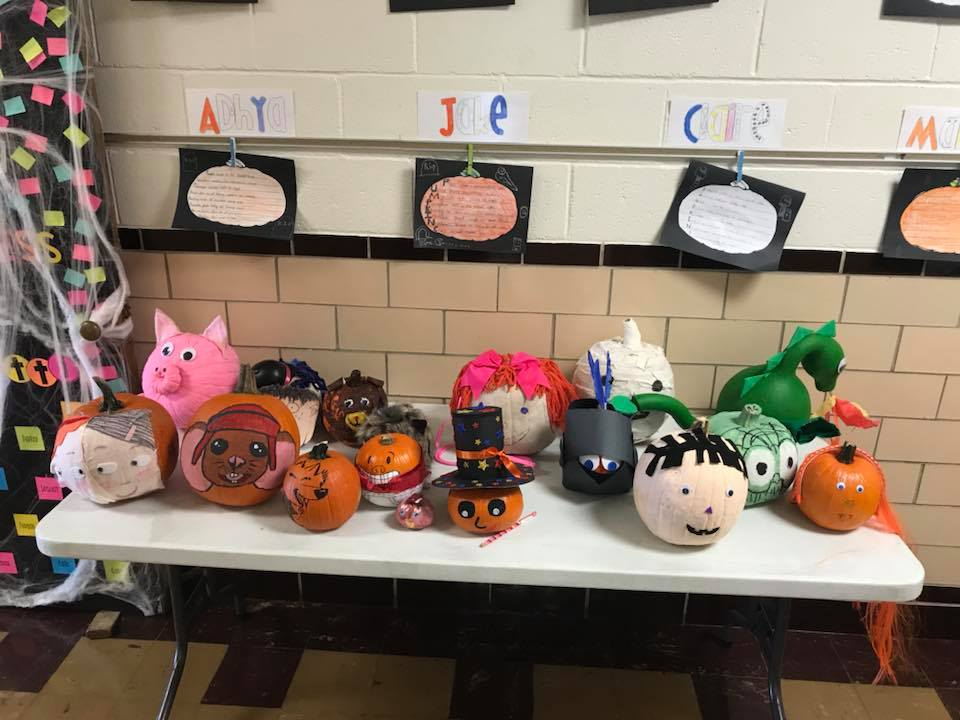 October 23rd: Third Grade Pumpkin Book Projects