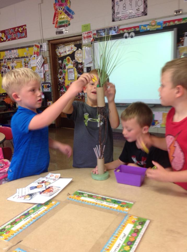 "October 5th: Mrs. Boffemmyer's Chica Chica Boom Boom"" STEM Activity"