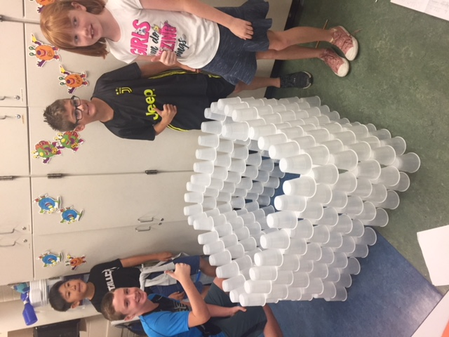 October 8th: Fourth Grade Cup Stacking STEM Challenge