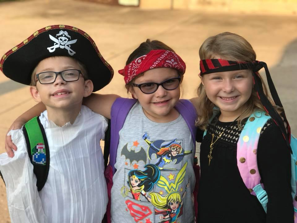 "September 19th: First Grade ""Talk Like a Pirate"" Day"