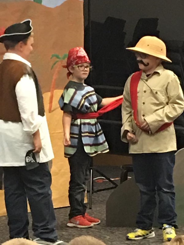 4th Grade: Pirates of Penzance: October 2017