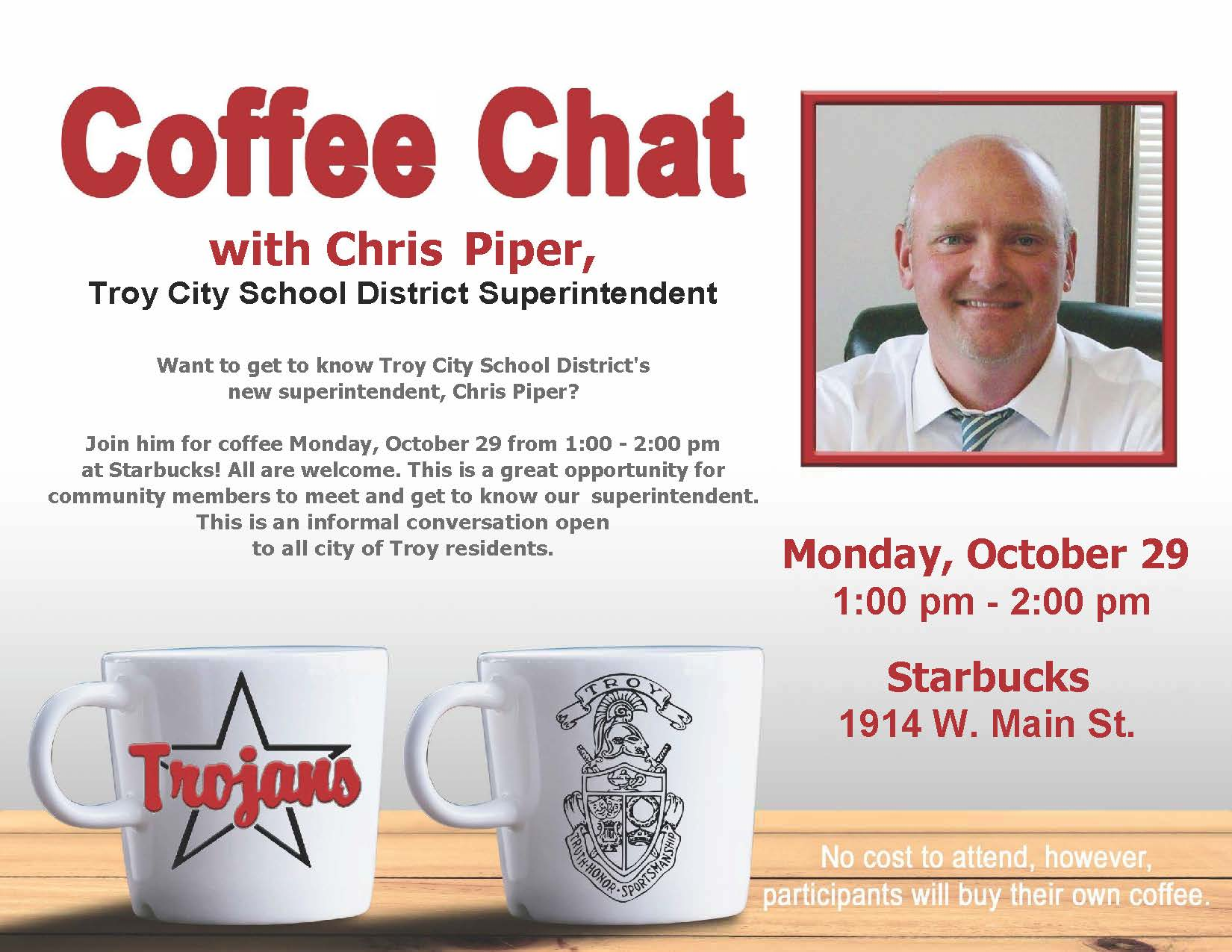 Coffee Chat with Chris Piper